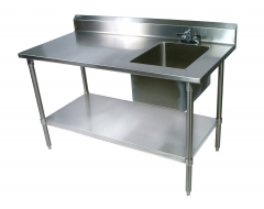 Butcher Table with Sink
